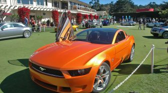 2006 Ford Mustang Giugiaro Concept Gallery