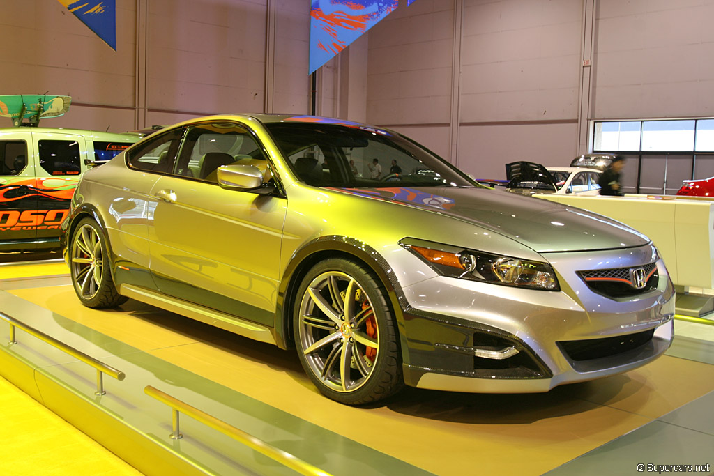 2007 Honda Accord Coupe HF-S Concept Gallery | Honda | SuperCars.net