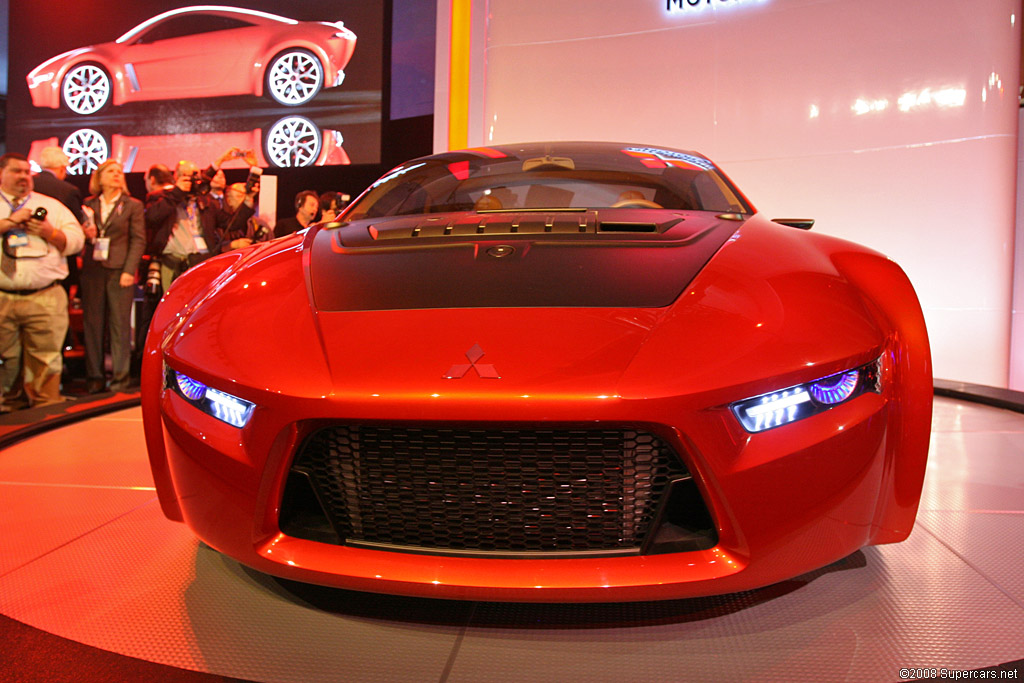 2008 Mitsubishi Concept Ra Gallery Gallery Supercars Net
