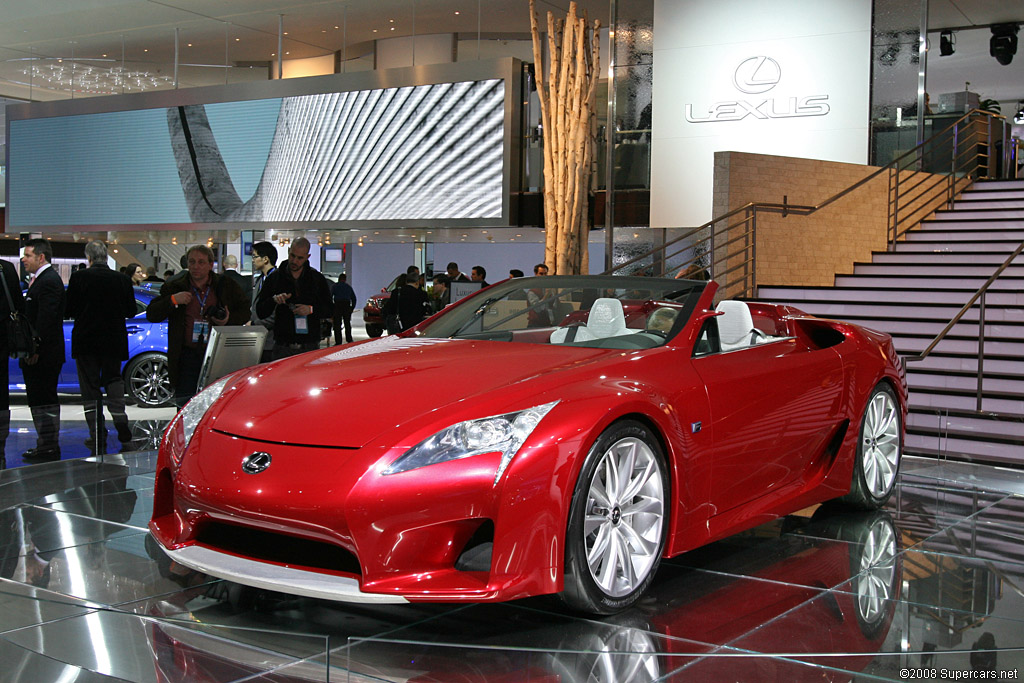 2008 Lexus LF-A Roadster Concept Gallery | Gallery | SuperCars.net