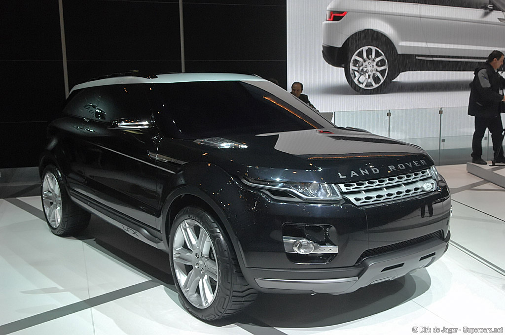 2008 Land Rover Lrx Concept Gallery Supercars