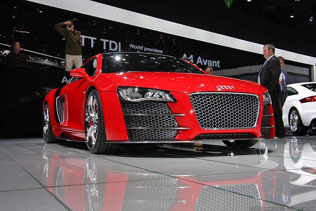 2008 Audi R8 V12 TDI Le Mans Gallery
