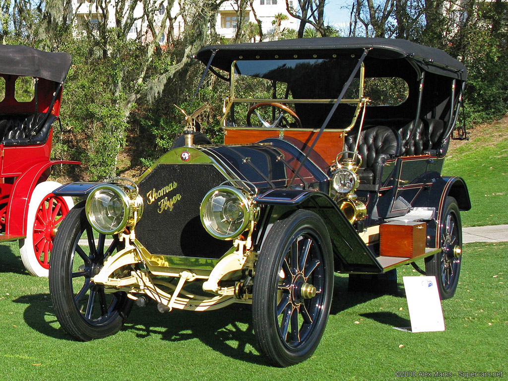 1907 Thomas Flyer Model 35 Gallery Gallery Supercars Net