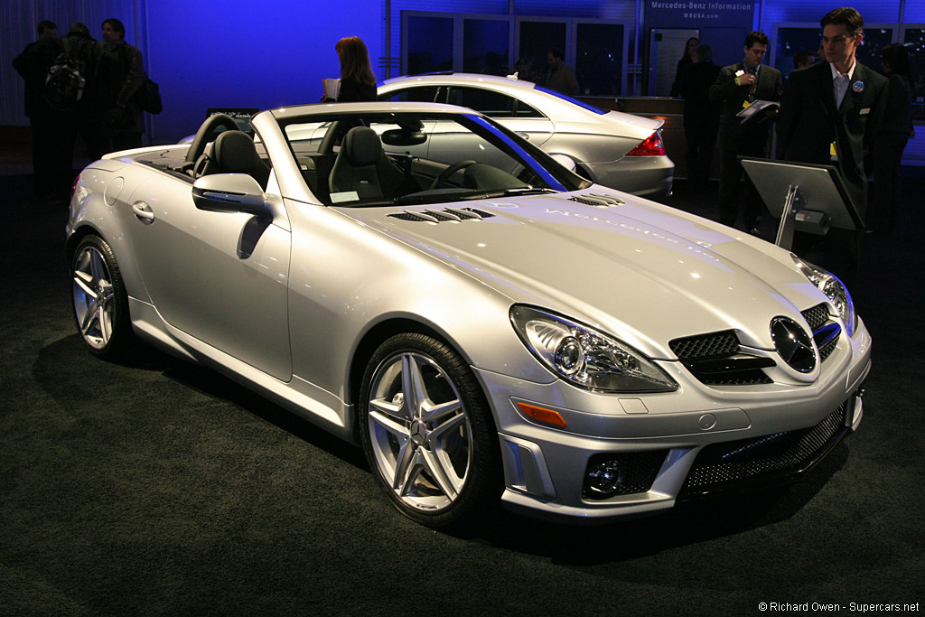 2009 mercedes benz slk 55 amg review