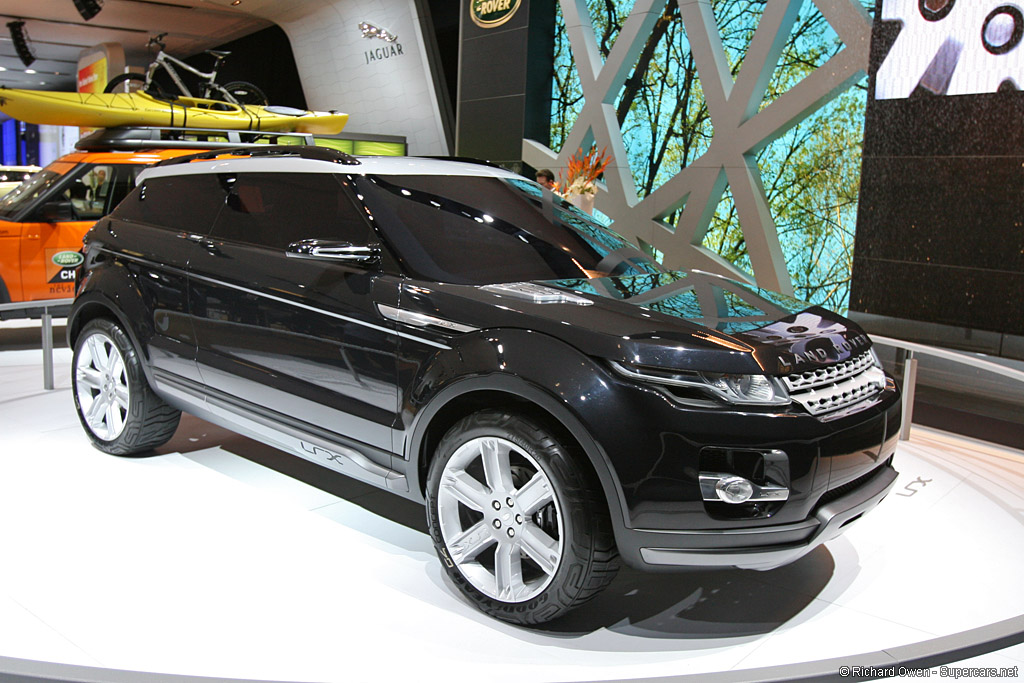 2008 Land Rover Lrx Concept Gallery Gallery Supercars