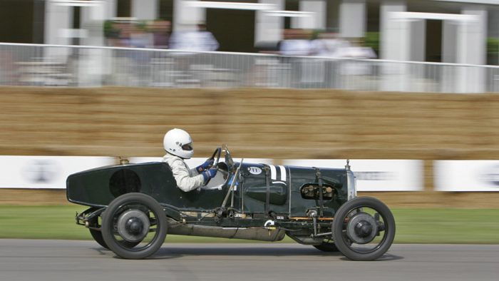 1922 Aston Martin Green Pea