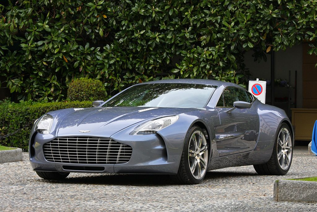 2009 Aston Martin One-77 Prototype Gallery