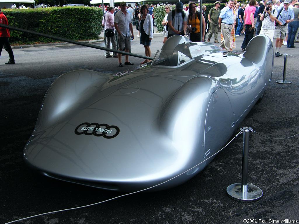 1937 Auto Union Typ C Stromlinie