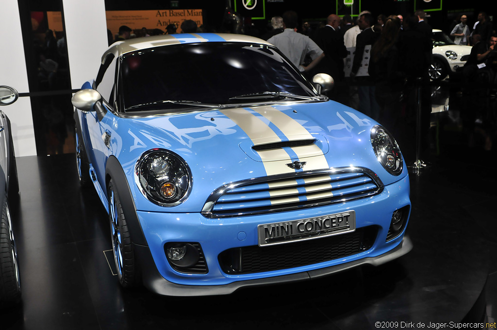 2009 Mini Coup Concept Gallery Gallery Supercars