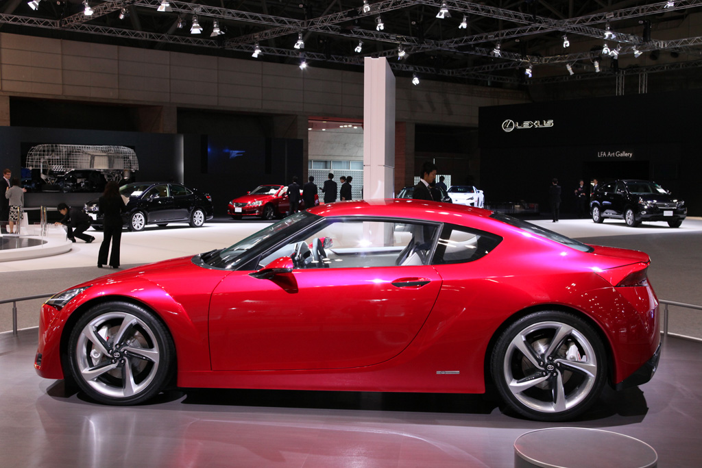 2009 Toyota FT-86 Concept Gallery
