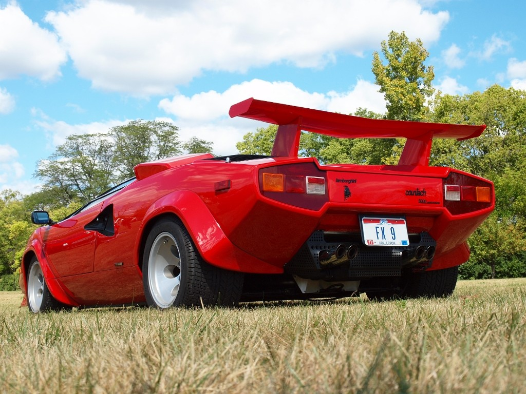 1982 lamborghini countach lp5000s gallery. Black Bedroom Furniture Sets. Home Design Ideas