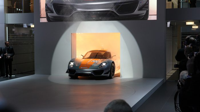 2011 Porsche 918 RSR 'Racing Lab' Gallery