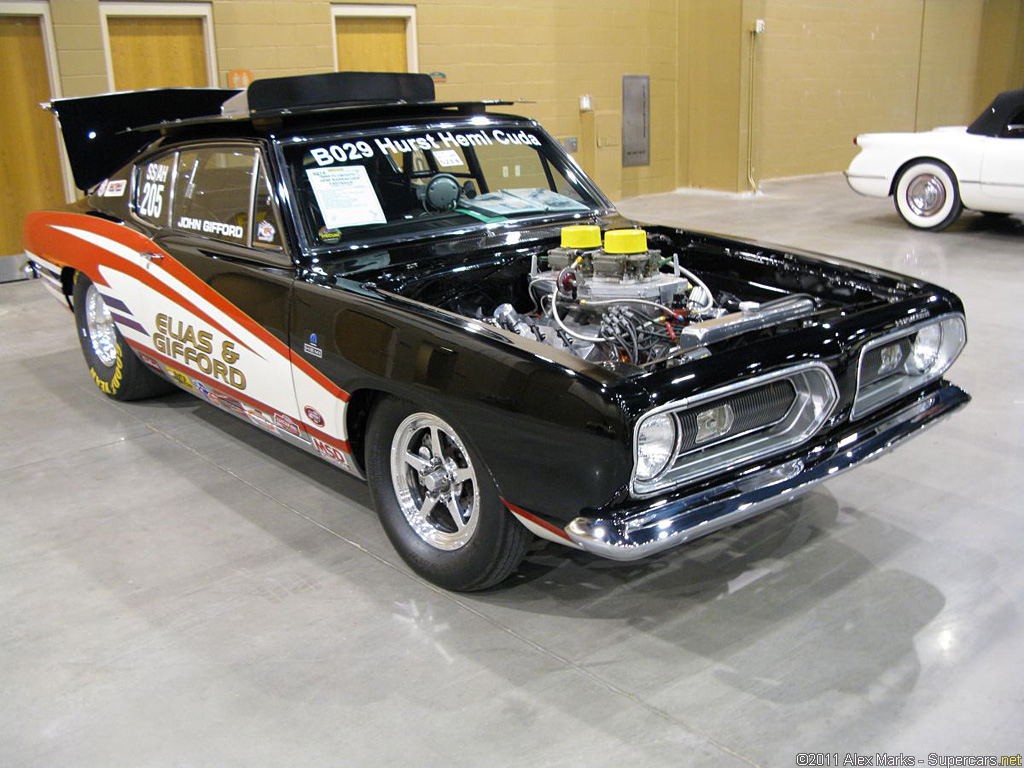 1968 Plymouth HEMI Barracuda B029 - Supercars.net