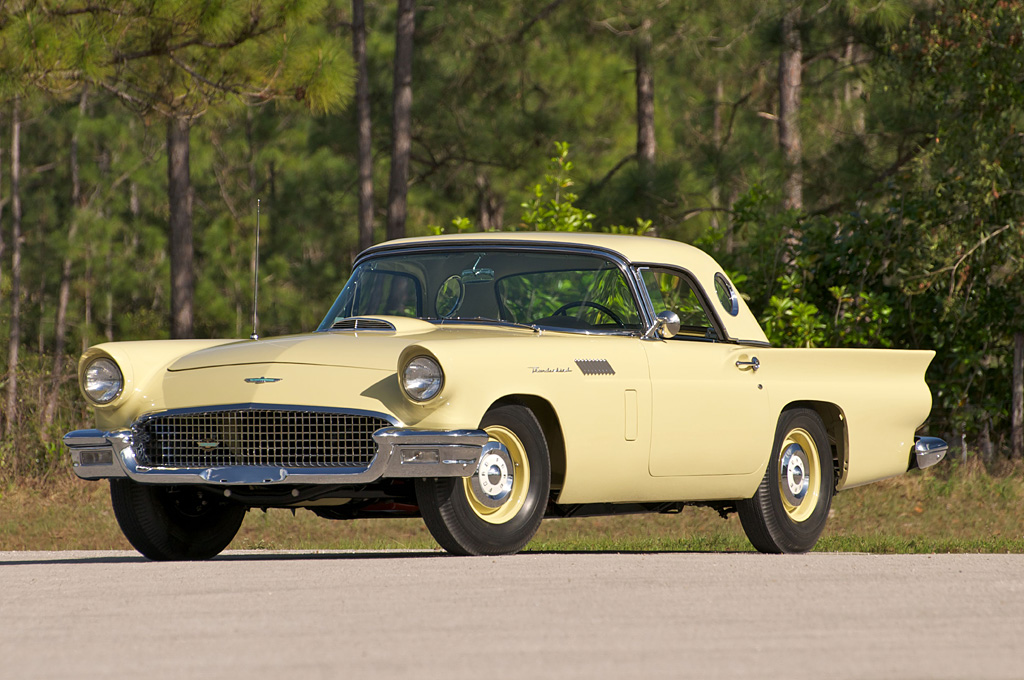 1957 Ford Thunderbird D F Code Phase I Ford Supercars Net