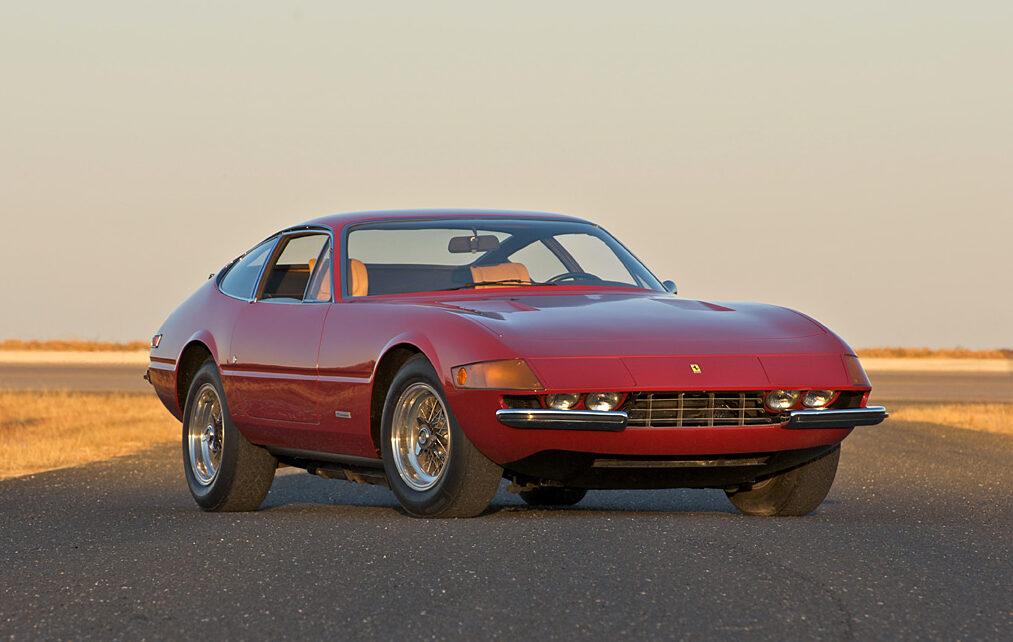1968→1973 Ferrari 365 GTB/4 Daytona