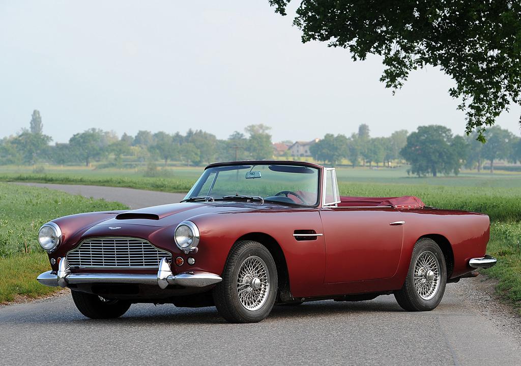1961 Aston Martin DB4 Convertible Gallery