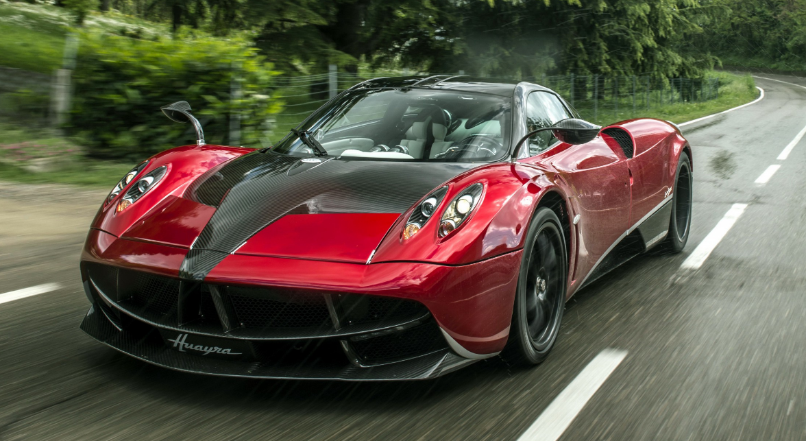 Top 50 Supercars Listed By Power To Weight Ratios