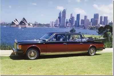 1991 Rolls-Royce Silver Spirit Emperor State Landaulet