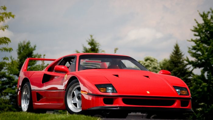Ferrari f40 1980s supercars eighties