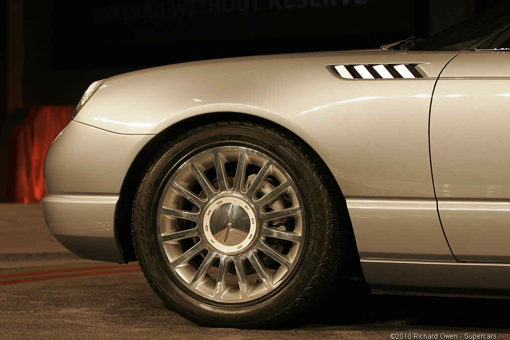 2003 Ford Thunderbird Supercharged Concept Gallery
