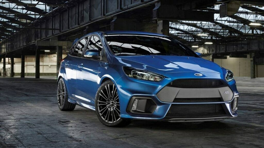 Ford Focus RS awd 2016 sports car hot hatch