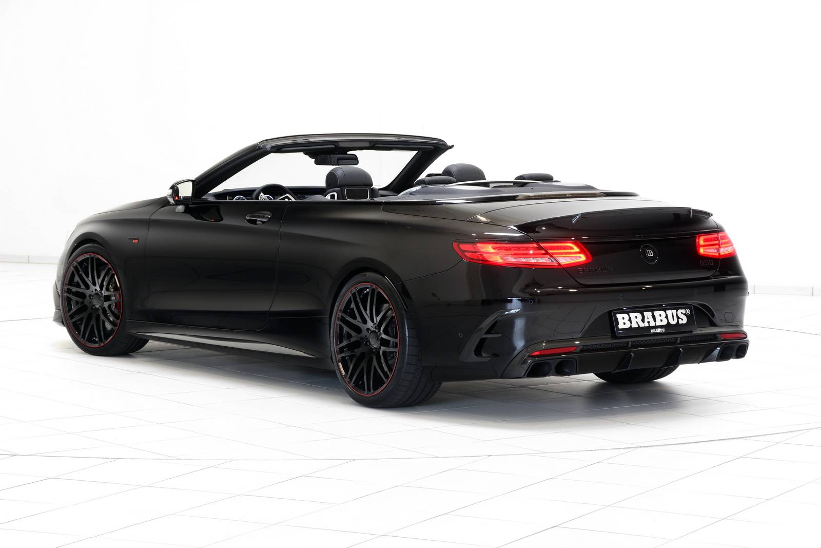Brabus Mercedes Benz S63 Amg Cabrio 3 Supercars Net
