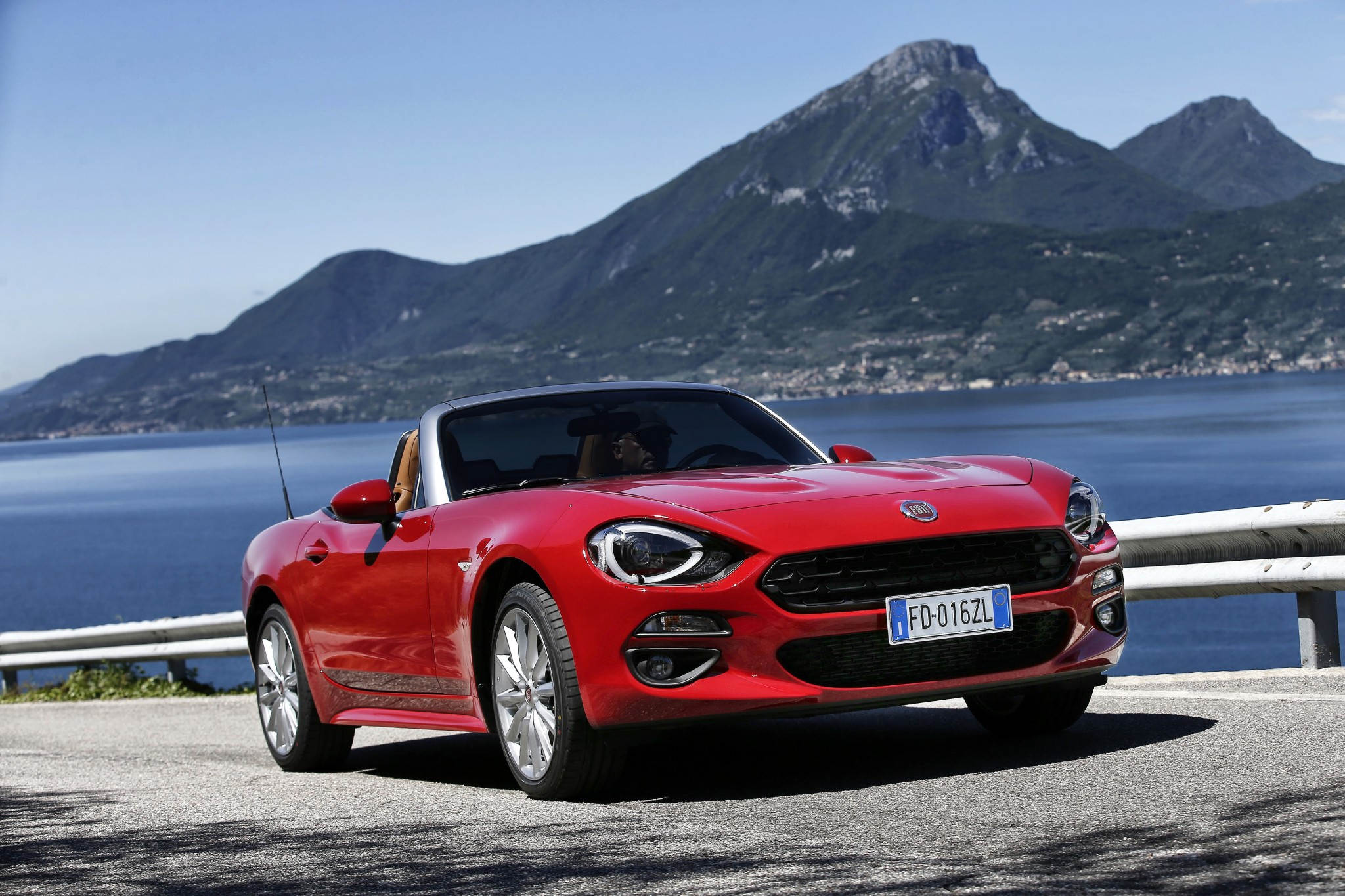 Fiat 124 Spider Convertible Supercars Net