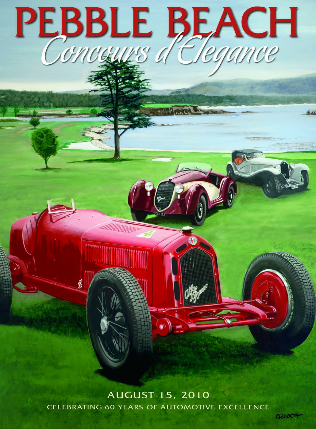 Pebble Beach Concours Event Home Page Supercars Net