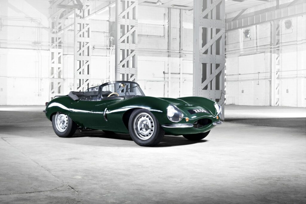 Jaguar XKSS, recently announced as a heritage model to be manufactured in 2016