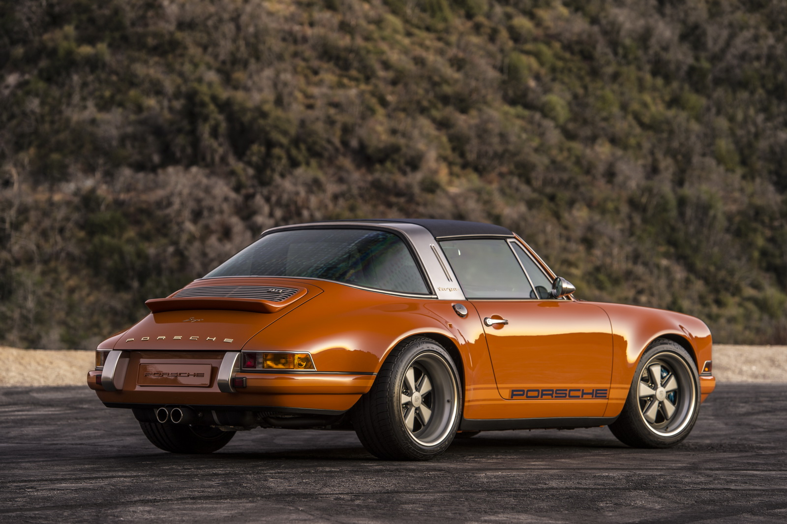 Modified Porsche 911 >> Singer's Orange 'Luxemburg' Targa Is Perfect | Singer | SuperCars.net