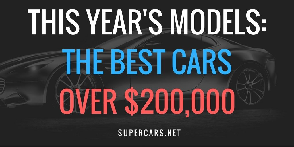 best cars over 200000