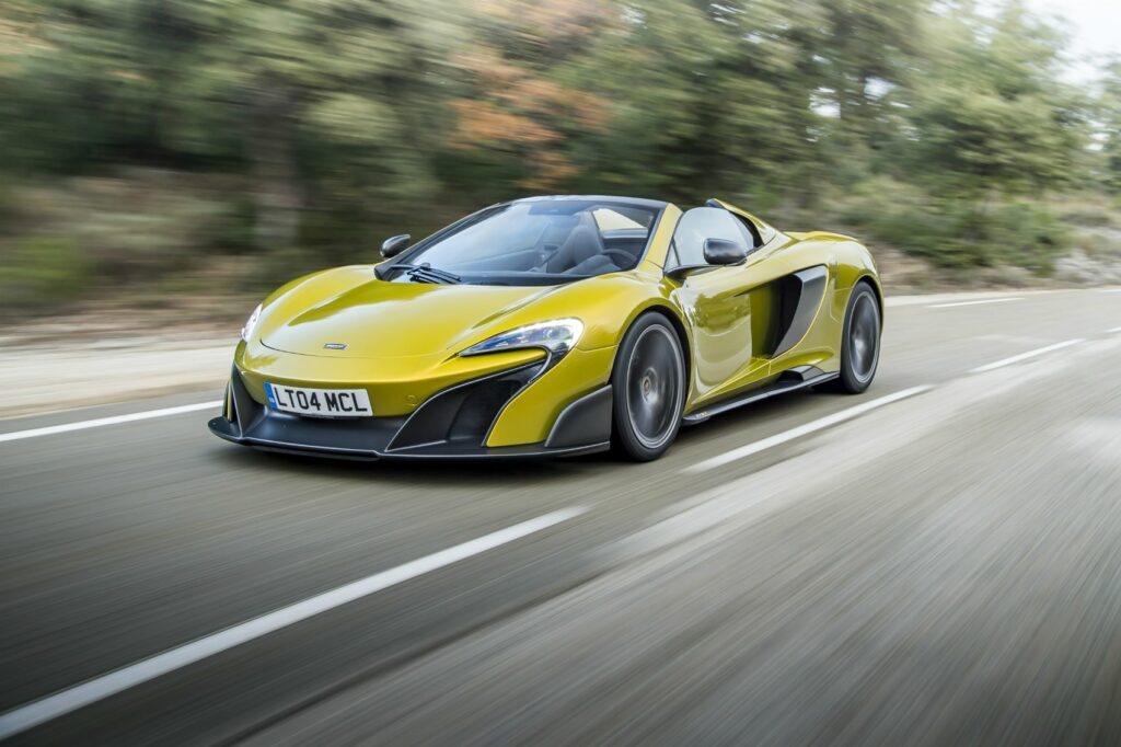 best convertible supercars - mclaren lt