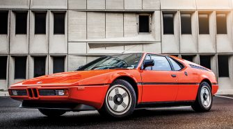 BMW M1 Supercars of the 70s greatest supercars of the 20th century