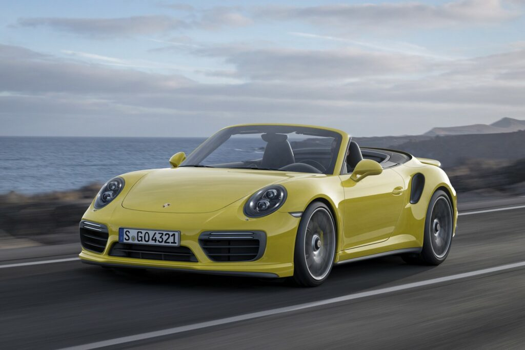 best convertible supercars - porsche 911 turbo