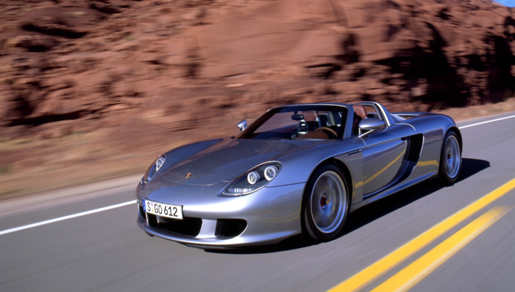 best convertible supercars -porsche gt