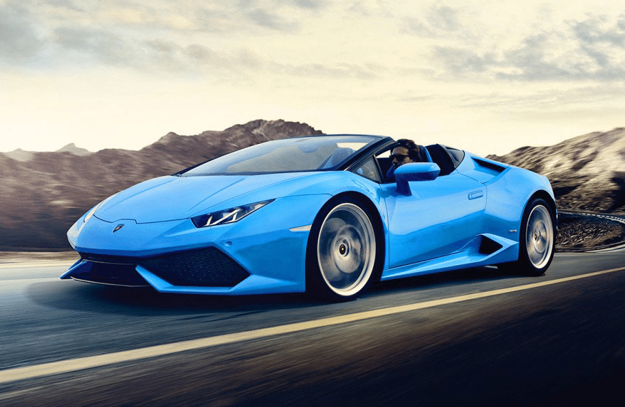 best convertible supercars - lambo huracan