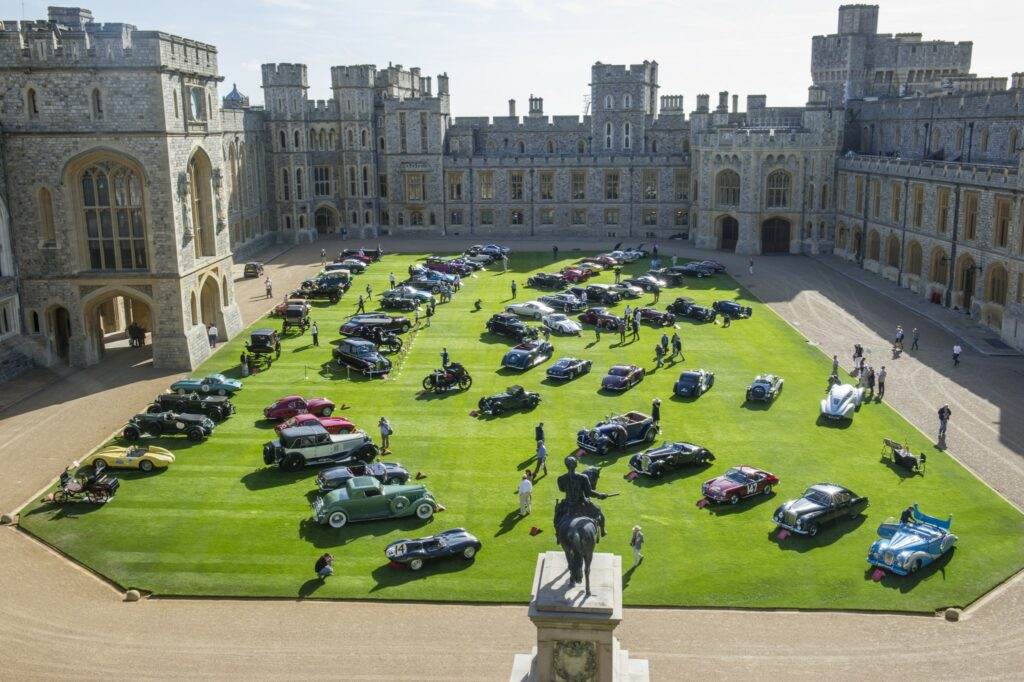 The Quadrangle at Windsor Castle