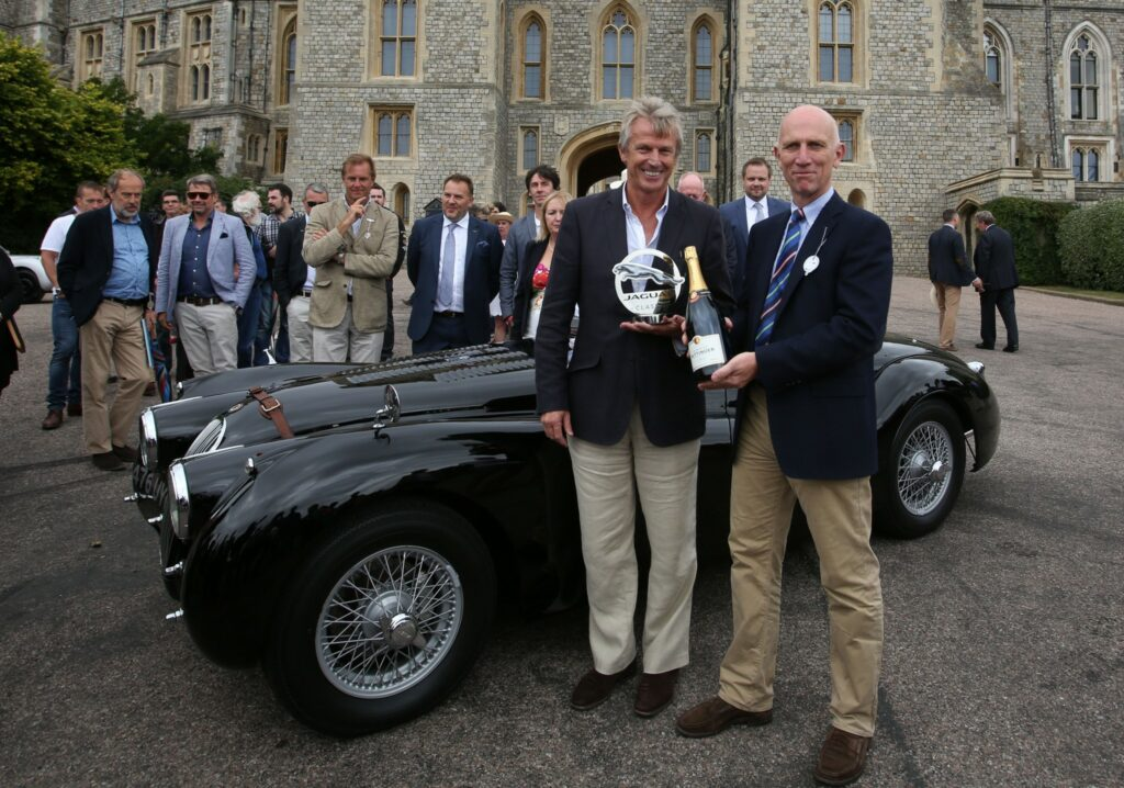 XK120 DHC - winner of the Jaguar Trophy