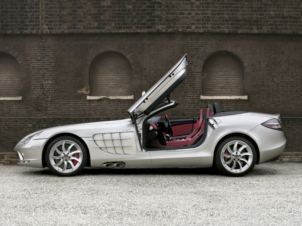 best convertible supercars - mclaren slr