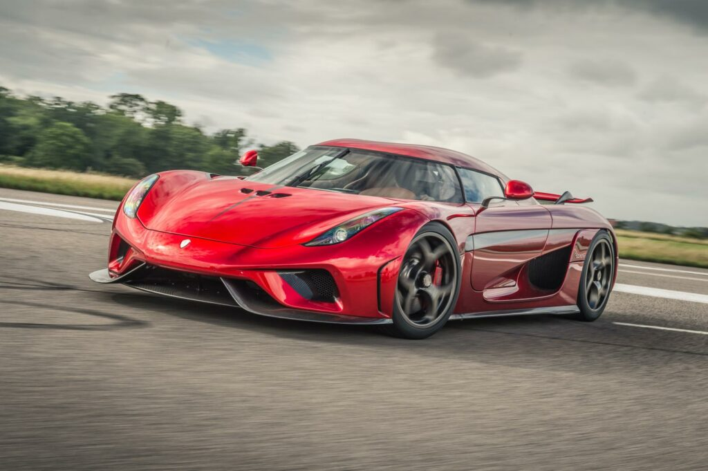 best convertible supercars - regera