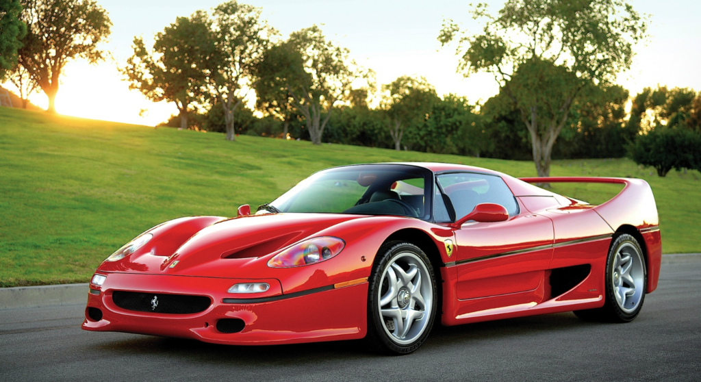 underrated ferraris - ferrari f50