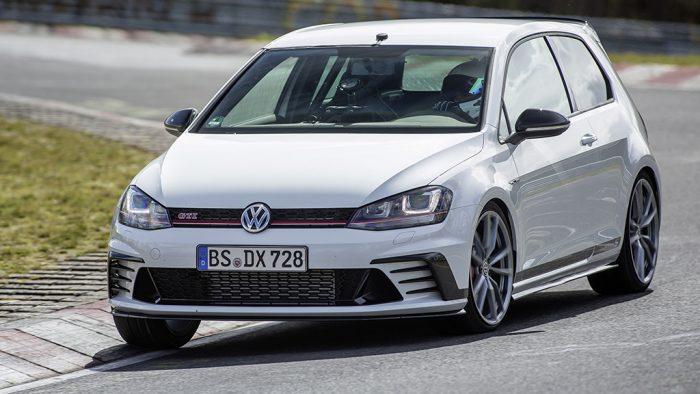 The Volkswagen VW GTI Clubsport S in its natural habitat. Photo courtesy of