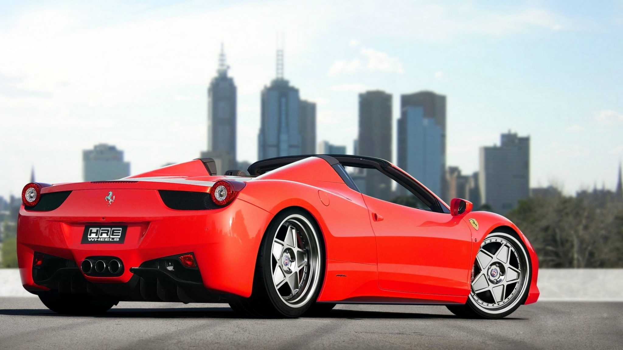 Ferrari 458 Italia Spider Full Hd Wallpaper