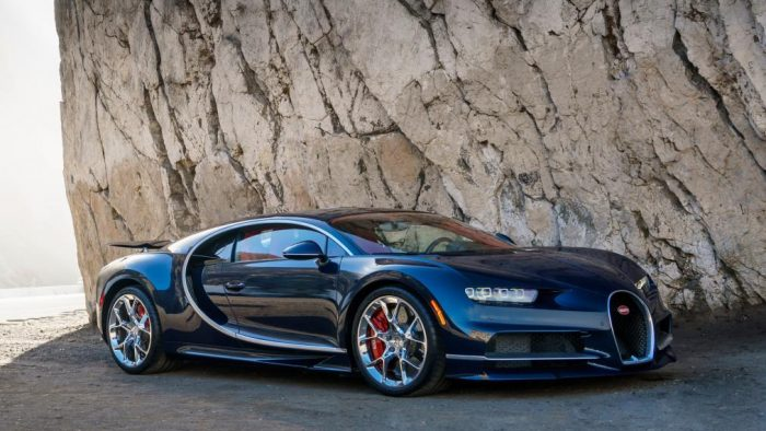 Bugatti Chiron. Photo courtesy of Bugatti.