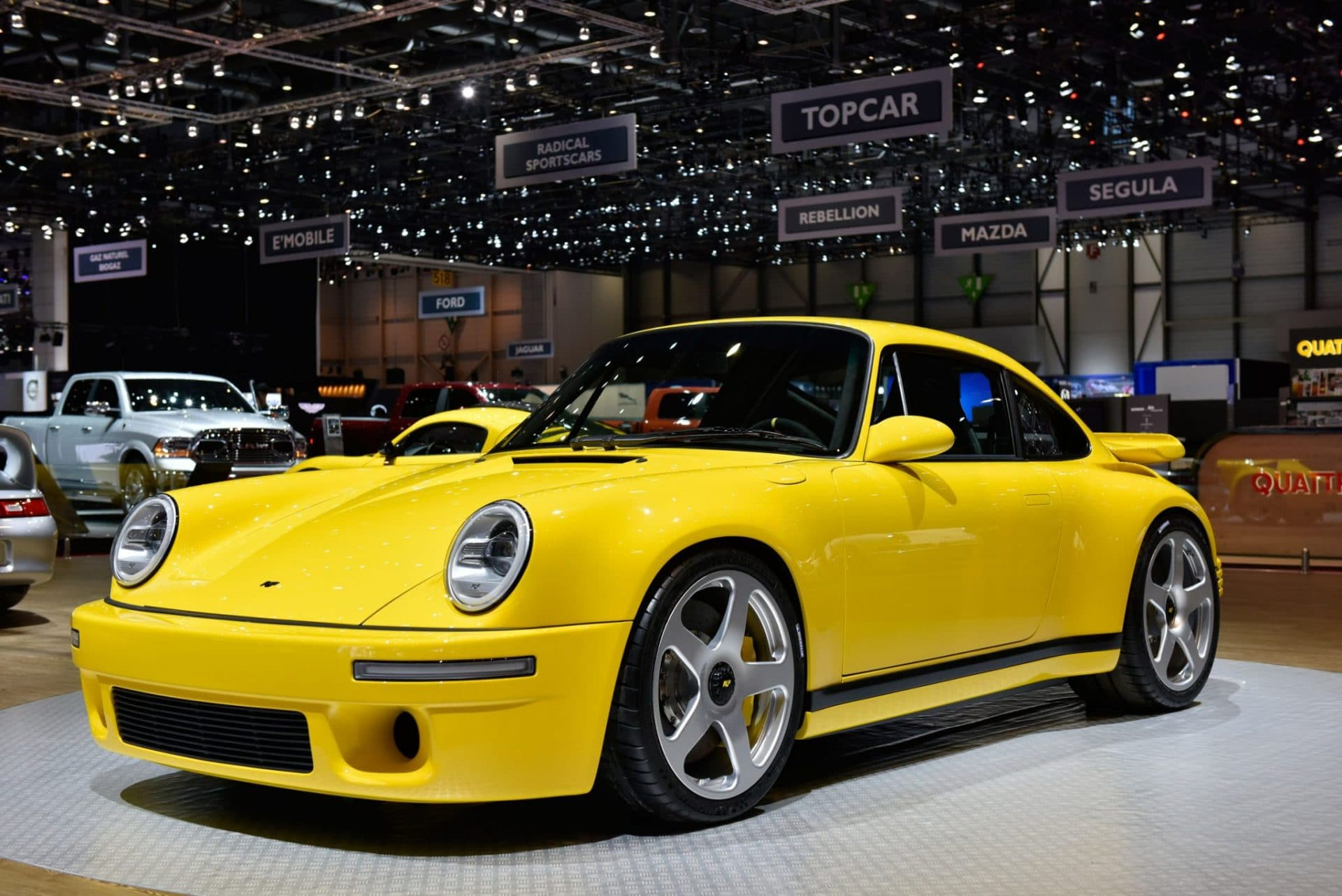 The Ruf CTR - Yellow Bird Makes a Comeback at the 2017 ...