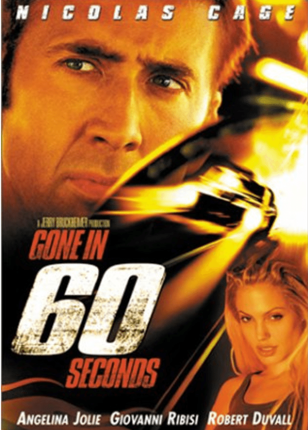 Gone in 60 Seconds - best car movie