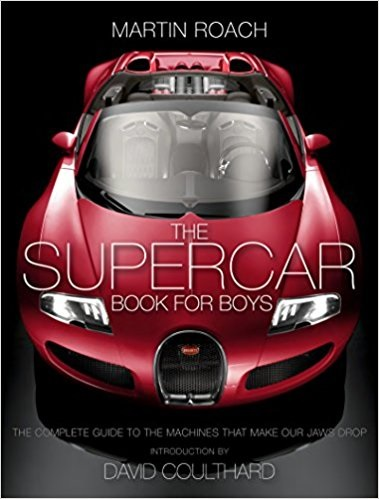 Best Car Books - The Supercar Book for Boys