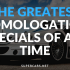 best homologation specials