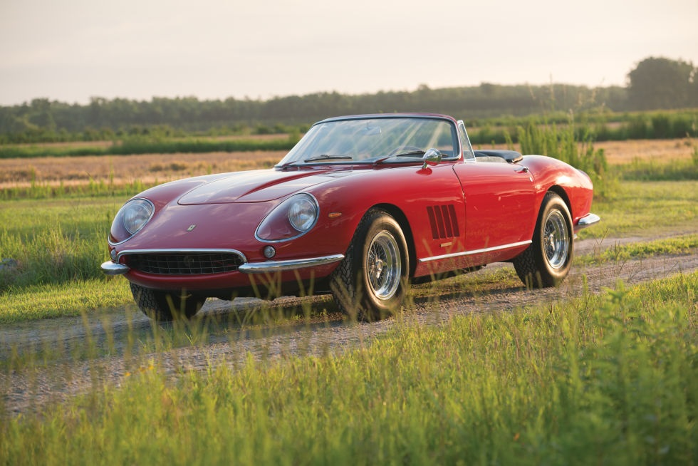 The Top 15 Most Expensive Ferrari Cars in the World - 1967 Ferrari 275 GTB/4 N.A.R.T. Spider