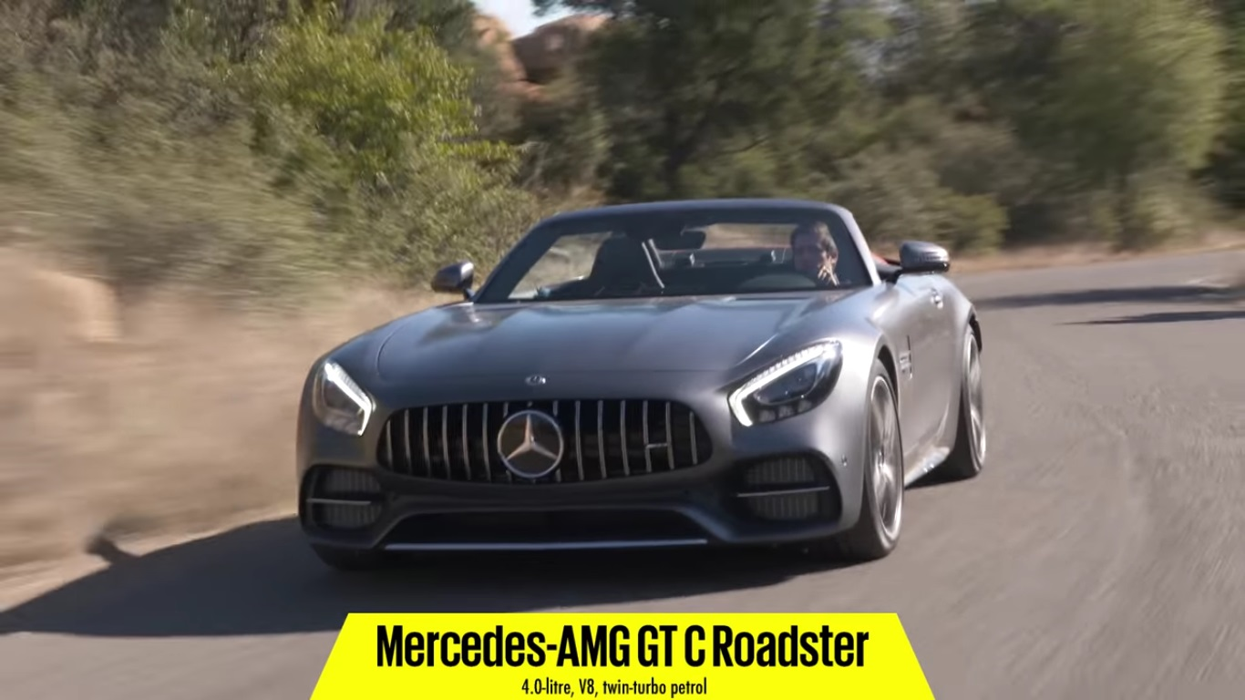 Mercedes-AMG GT C Roadster Review by Autocar